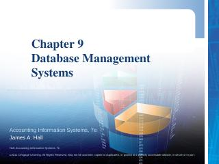 hall, accounting information systems - Cengage