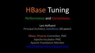 Hbase Tuning