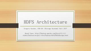 HDFS Architecture - Andrew.cmu.edu