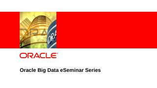 HDFS Oracle Database - Knowledge Center