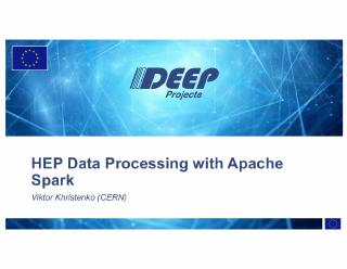 hep data processing with apache spark