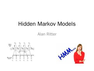 Hidden Markov Models - Alan Ritter