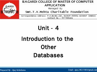 Homogeneous Distributed Database ... - Ajay A...