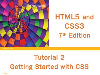 HTML5 and CSS3 7 th Edition Getting Started w...