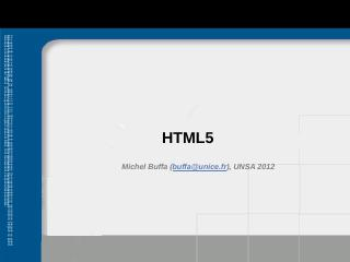 HTML5-CSS3.pptx - miageprojet2