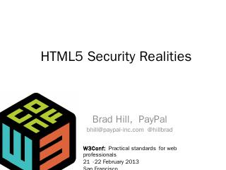 HTML5 Security Realities
