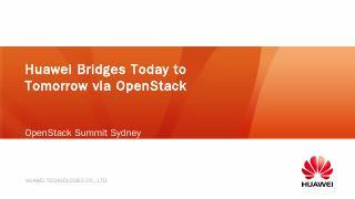 Huawei Cloud - OpenStack