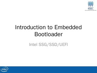 IA Boot Loader - Inte...