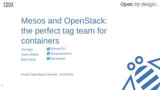 IBM OpenStack Summit Theme