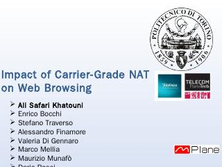 Impact of Carrier-Grade NAT on Web Browsing -...