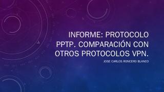 Informe: Protocolo PP...