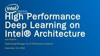 Intel® Math Kernel Li...