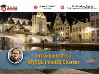 introduction to mysql innodb cluster