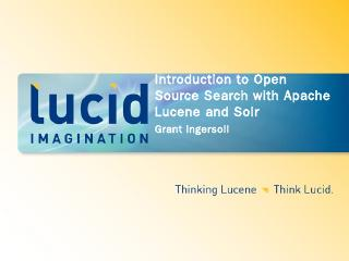 Introduction to Open Source Search with Apach...