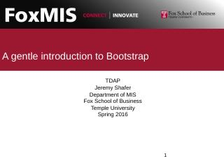 Introduction to Web Development - Temple MIS ...