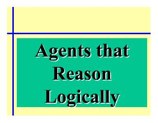 003-agents that reason logiclly