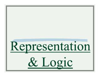 004-representation and logic