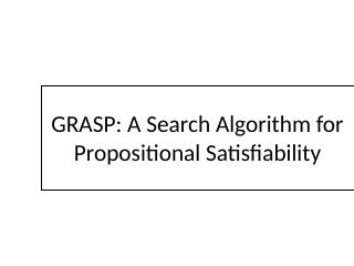 008-a search algorithm for propositional sati...