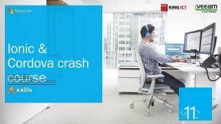 Ionic crash course