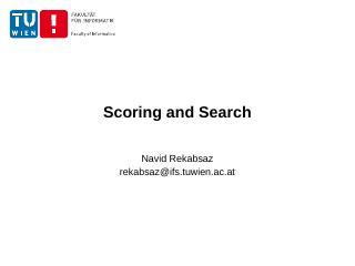 IR models - Navid Rekabsaz
