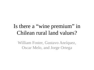 Is there a wine premium in rural land values?...