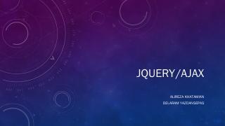 Jquery/Ajax