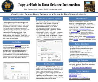 JupyterHub in Data Science Instruction - EECS...