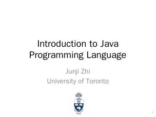 Java Programming Language Tutorial