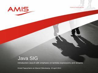 Java SIG - Glarimy