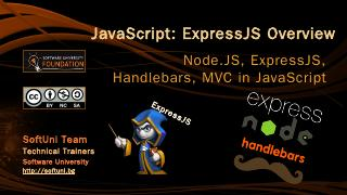 JavaScript: ExpressJS Overview - SoftUni