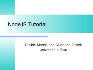 javascript in practice - DidaWiki