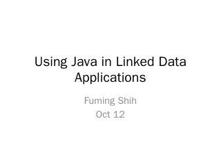 Jena (Java) - MIT