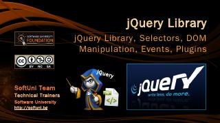 jQuery Library - SoftUni