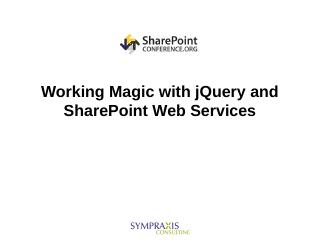 jQuery - Marc D Anderson