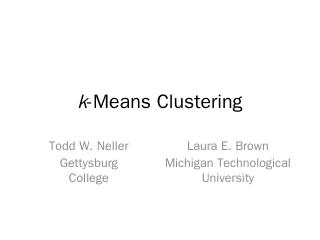 k-Means Clustering - Model AI Assignments - G...