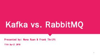 Kafka vs. RabbitMQ