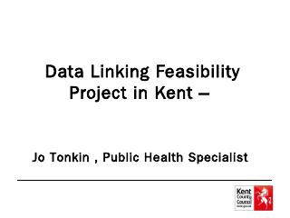 kent integrated dataset