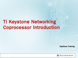 KeyStone I Network Coprocessor