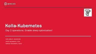 Kolla-Kubernetes - OpenStack