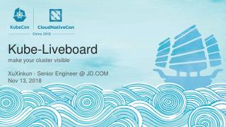 Kube-Liveboard:使您的集群可见