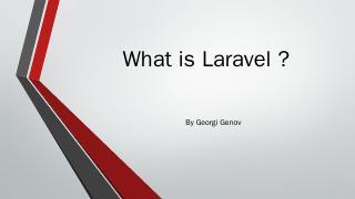 Laravel - SoftUni