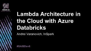 lambda architecture in the cloud with azure d...
