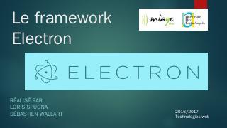 Le framework Electron - miageprojet2
