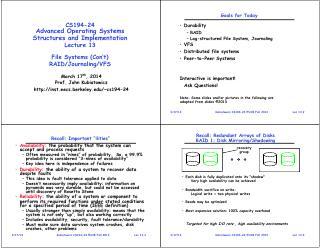 文件系统(续1)