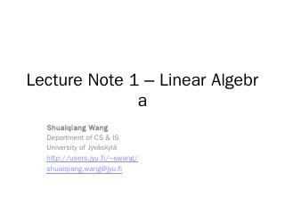 LectureNotes 1-LinearAlgebra.pptx