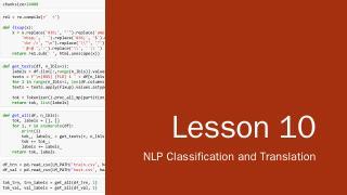 Lesson 8 - Files for course.fast.ai