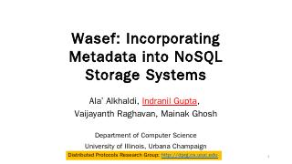 Leveraging Metadata in NoSQL Storage Systems ...