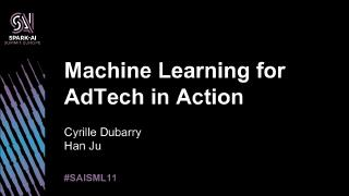 machine learning for adtech in action.