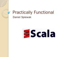 Practical Functional Scala