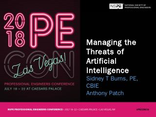 Managing the Threats of Artificial Intelligen...